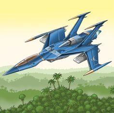 Lak'Shani Fighter by Artraccoon