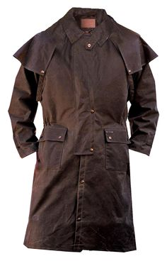 Outback Trading Company Low Rider Oilskin Duster 2042, Lammle's Western Wear & Tack