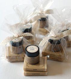 """The """"6 Pack"""" - 6 Mini Variety Gift Sets - Bulk Order - Natural Handmade Soap & Shea Butter Cream Sample Pack. $48.00, via Etsy."""
