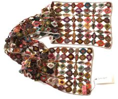 Crochet Scarf by Paris Designer, Sophie Digard