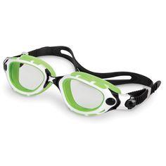 The Photochromatic Swim Goggles - #HammacherSchlemmer -  tinted lenses that automatically brighten or darken in response to changing lighting conditions.  #Gadget #fashion #glasses #sports #lynnfriedman @Lynn Friedman