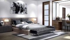 modern bedroom interior design   Eke Interior
