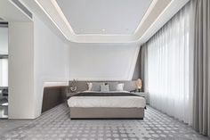 Ceo Office, Luxurious Bedrooms, Modern Bedrooms, Interior Staircase, Ceiling Design, Home Bedroom, Decoration, Guest Room, Luxury Homes