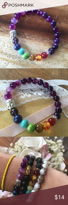 BALI Chakra Buddhist Spiritual Healing Bracelet NEW! Purchased on my trip to Bali Indonesia, zen bracelets to promote healthy minds and zen soul.  Various colors available. bali Jewelry Bracelets