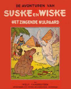 Suske en Wiske no. - Het zingende nijlpaard door Willy Vandersteen (Standaard uitgeverij)