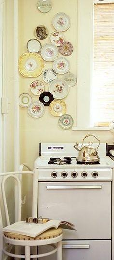 plates wall display