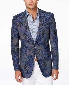 Tallia Men's Vince Floral-Print Sports Coat