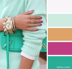Soft and fluffy mint knit, gorgeous nail polish and accessories. Via Viva Luxury Looks Street Style, Looks Style, Style Me, Blue Style, Pacsun, Viva Luxury, Look Fashion, Womens Fashion, Cheap Fashion