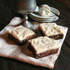 Goat Cheese Brownies by GamineCuisine