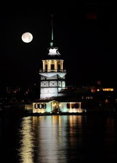 Girl Tower in Istanbul mustafa altundağ Places Around The World, Around The Worlds, Turkey Culture, Istanbul Hotels, Istanbul City, Visit Turkey, Cultural Architecture, Hagia Sophia, Turkey Travel