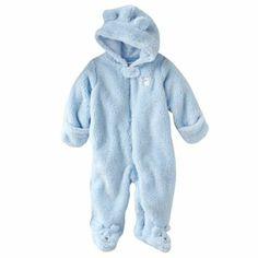 Carter's Bear Sherpa Pram - Baby