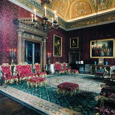 Houghton Hall | Built for Robert Walpole, 1st Earl of Orford, KG, KB, PC (English 1676-1745)  | Architects: James Gibbs (English, 1682-1754) and Colen Campbell (English, 1676-1729) | Interiors: William Kent (English, 1685-1748) | Residence of David George Philip Cholmondeley, 7th Marquess of Cholmondeley (English b. 1960)