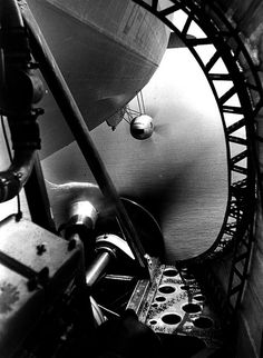 Technik-Luftschiff #flickr #airship #1930s
