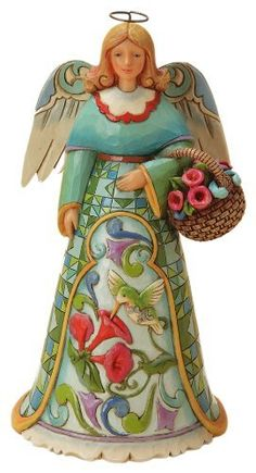 Enesco Jim Shore Heartwood Creek Summer Angel with Hummingbird Figurine, 7.25-Inch by Enesco, http://www.amazon.com/dp/B00AQ04K6E/ref=cm_sw_r_pi_dp_Azk8qb1JH7XNB