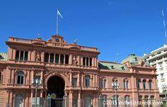 The Casa Rosada Buenos Aires www.mrbelltravels.com