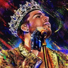 How perfection looks like: @adamlambert #AdamLambert #Glamberts #TheOriginalHigh #Queen #RockinRio pic.twitter.com/FD4XPY402p