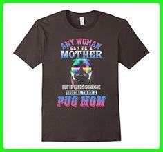 Mens PUG MOM T-SHIRT 3XL Asphalt - Relatives and family shirts (*Amazon Partner-Link)