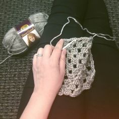 Spending today's lunch hour working on what will be the coziest cocoon sweater EVER!   Amazing pattern by @knitbrooks  #grannystitch #sweater #crochetsweater #crochetersofinstagram #knitbrooks #blueeyedbirdcreations #heartlandyarn by blueeyedbirdcreations