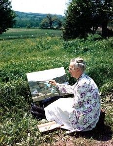 Grandma Moses. She took up painting in her 70s. That's in her SEVENTIES. You're never too old to do what you love. She developed international fame *in her lifetime*. Do what you love.