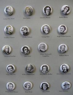 Author Portrait Buttons