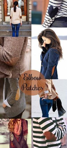 Inspiration: Elbow Patches. Give something elbow patches and I'm sold.