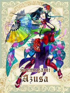 Sumegami Azusa- Silver Rain