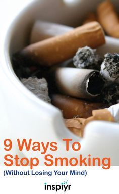9 Ways To Stop Smoking (Without Losing Your Mind) by // Smoking can be detrimental to not only your own health but the health of those around you. Here are a few tips to help you stop smoking! Ways To Stop Smoking, Help Quit Smoking, Giving Up Smoking, Quit Smoking Motivation, Body Motivation, Health Tips, Health And Wellness, Smoking Addiction, Cigarette Addiction