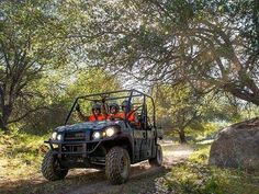 New 2015 Kawasaki Mule PRO-FXT EPS Camo ATVs For Sale in Florida. 2015 KAWASAKI Mule™ PRO-FXT™ EPS Camo, The new Kawasaki Side x Side is capable and comfortable, ready for adventure or your toughest jobs. The all-new King of Mules is the 2015 Kawasaki Mule PRO-FXT. This highly capable unit mixes Side x Side versatility with class-leading torque, making it the fastest and most powerful Mule ever. It also has new configurable Trans Cab seating for three or six passengers, along with more…