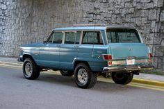 Hemmings Motor News — Lifted driver-quality 1975 Jeep Wagoneer for sale...