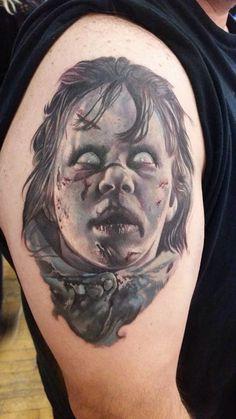 Exorcist tattoo