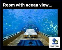 """Brings a whole new meaning to the expression """"A Room with a View"""", doesn't it? :)"""