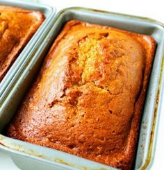 Recipe For  Classic Pumpkin Bread