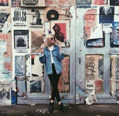 Imagem de grunge, girl, and outfit Foto Fashion, Denim Fashion, Grunge Fashion, Fashion News, Fashion Beauty, Women's Fashion, Girls Heart, Mode Hipster, Estilo Jeans