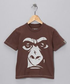 Take a look at this Cocoa Gorilla Tee - Infant, Toddler