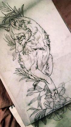 Tattoo Old School Adaga - Tattoo Ideen Blumen - Small Tattoo On Shoulder - - Shoulder Tattoo Unique - Boho Arrow Tattoo Music Tattoos, Body Art Tattoos, Small Tattoos, Sleeve Tattoos, Tatoos, Flower Tattoos, Wolf Tattoos, Animal Tattoos, Deer Tattoo