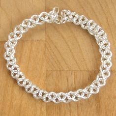 Open Round Jump Ring Chain Maille. Free Step-by-Step Instructions. Visit the website for step-by-step instructions, kits and supplies and other chainmail projects