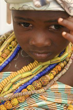 Africa |  The Dipo ceremony of the Krobo girls in Ghana |  © Walter Callens