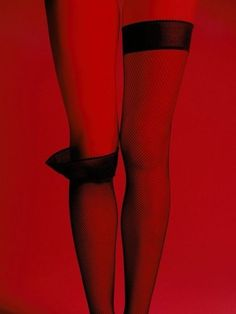 Stockings ....Off or On?... Use your imagination... ❥ℬℯℓℓℯ~