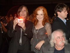 Jackson Browne and Bonnie Raitt - two of my absolute fav's.  Oh, there's David Crosby, too.