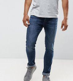 Just Junkies Skinny Jeans In Dark Wash - Blue
