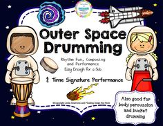 Get out those drums or even do body percussion. So fun!