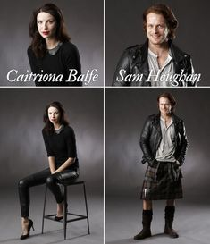 .Jamie and Claire