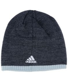 adidas Los Angeles Kings Heather Beanie - Charcoal/Gray Adjustable