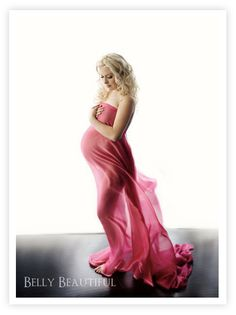 Another one of my most favorite maternity images ever...Just wrap a sheer curtain around yourself. It allows modesty, while still highlighting the sexy curves of your body. So pretty!