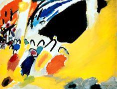 """Kandinsky """"Impression III 1911"""