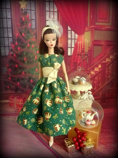 BArbie SIlkstone Doll https://flic.kr/p/hP7jhT | Christmas Pudding
