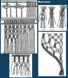Iva Rose Vintage Reproductions - Jenny June's Needlework c.1885 - A Manual of Knitting, Crochet & Macrame