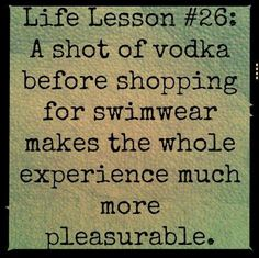 Haha... So true! I needed this last spring when I was shopping for a bathing suit for Hawaii!