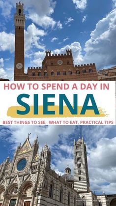 All you need to know to spend a fabulous day in Siena with kids: discover child friendly attractions in Siena, best food to try and essential travel tips to visit this amazing Italian town