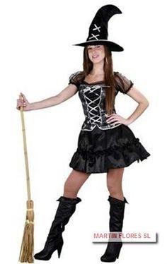 Disfraz sexy mujer halloween bruja. Mucha más variedad en www.martinfloressl.es #sevilla